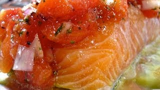 Simple Herbed Baked Salmon