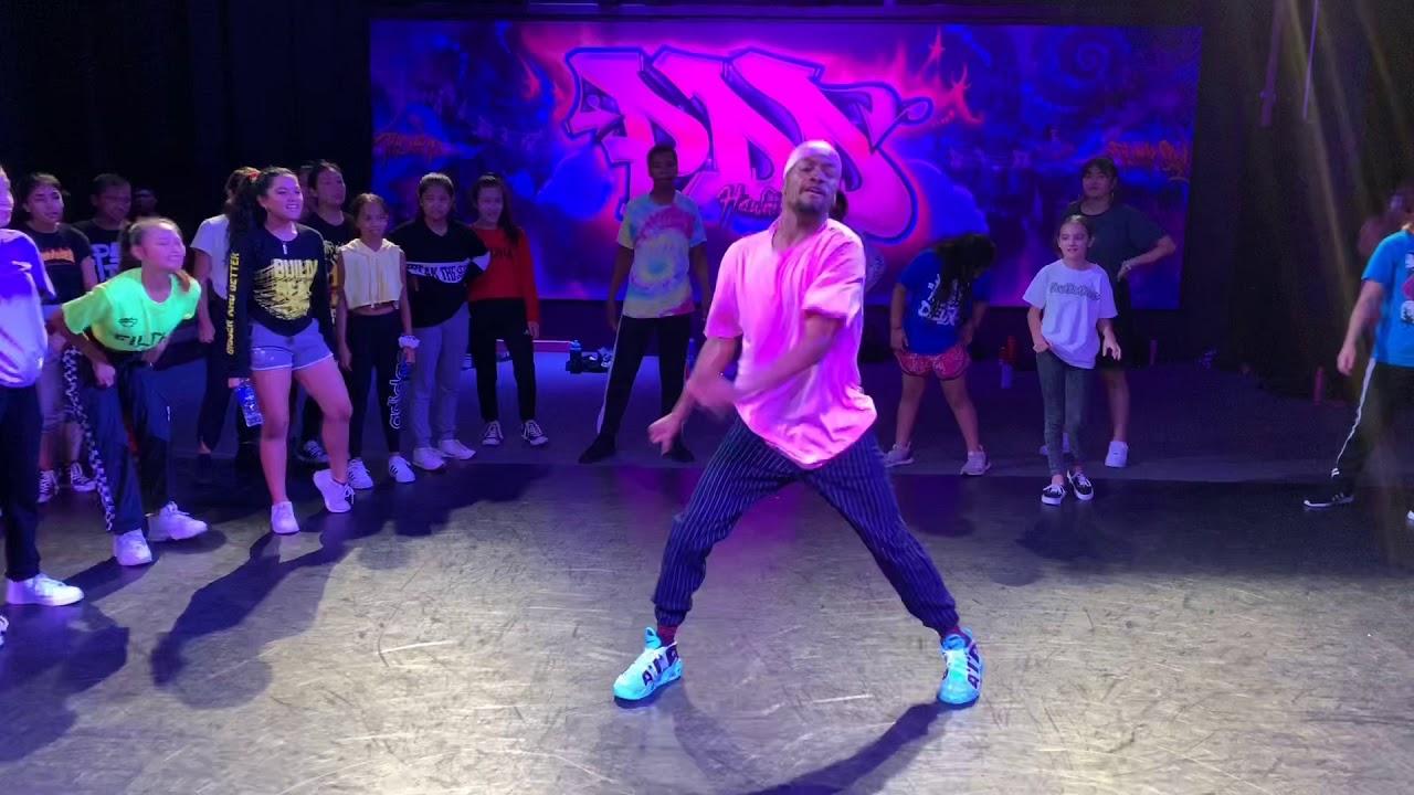 Missy Elliot - Throw it back - (choreography by Trevontae Leggins)