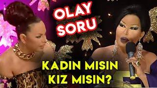 Ebru Gündeş'e Bülent Ersoy'dan Olay Sözler: Kadın Mısın Kız Mısın?