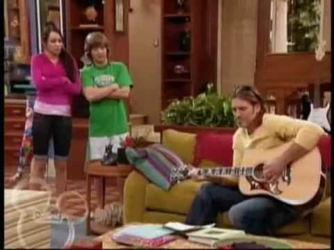 Billy Ray Sings on Hannah Montana