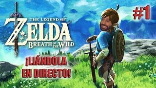 ¡¡DIRECTO CON GABION, LA GUARIDA DEL CLAN YUGA!! - Zelda Breath of The Wild