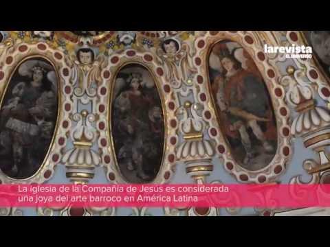 Las cúpulas de la iglesia de la Compañía de Jesús