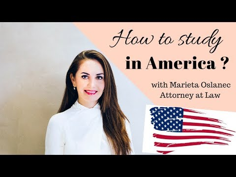 How to study in the USA?❤️🇺🇸