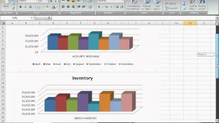 Simple Dashboards Using GL Summaries and Excel Reports for Dynamics GP