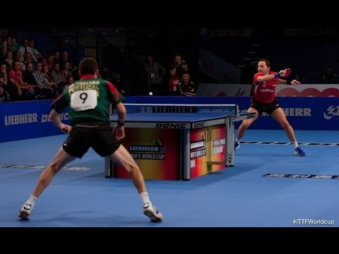Men´s World Cup 2013 Highlights: Jean-Michel Saive vs Marcos Freitas