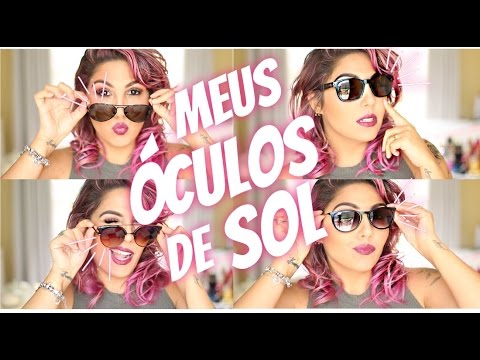 MEUS ÓCULOS DE SOL!! OAKLEY, CHILLI BEANS, FUEL, RAY BAN - YouTube 1bd25e884b