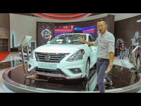 VMS 2018 - Chi tiết Nissan Sunny 2018 Q-Series siêu rộng siêu thực dụng