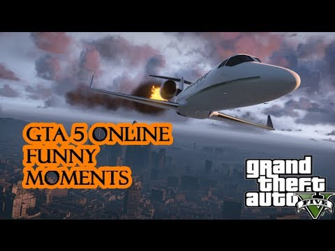 Gta 5 Funny Moments Online- Hacking Glitch