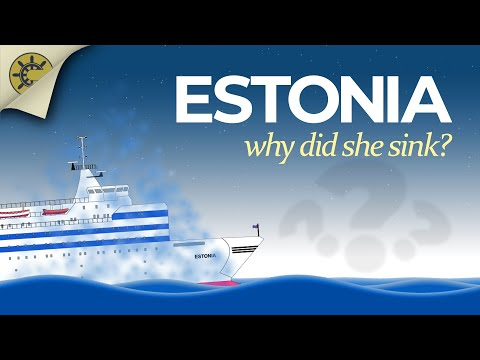 MS Estonia | The story of her sinking