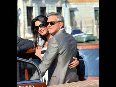 George Clooney & Amal Alamuddin Wedding The Dress, Place & Guest