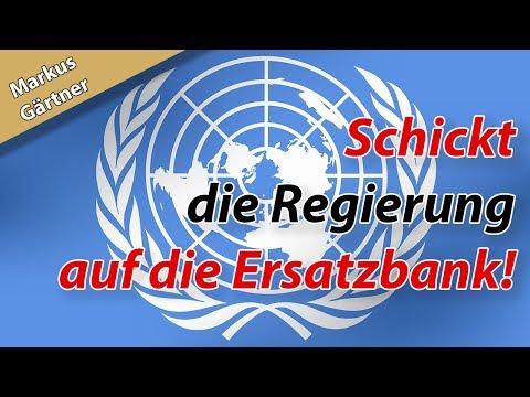 Migrationspakt – Schickt die Regierung auf die Ersatzbank!