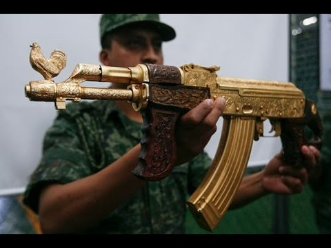 gold ak 47 in real