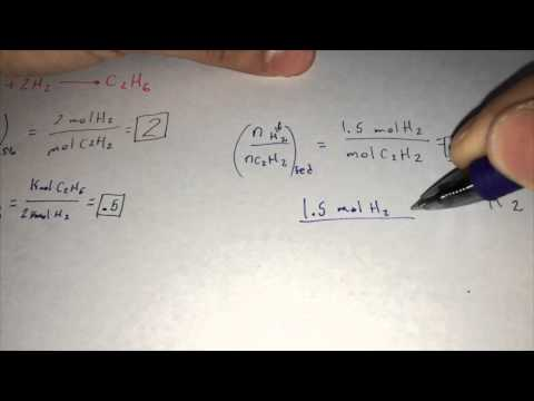 Stoichiometric & Yield Ratio/Limiting Reactant/Percent Excess