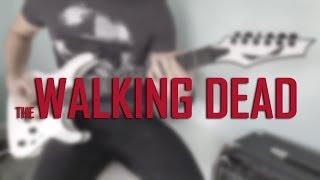 WALKING DEAD - metal cover