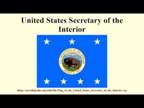 United States Secretary of the Interior