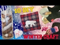 10 DIY Winter crafts HOW TO!