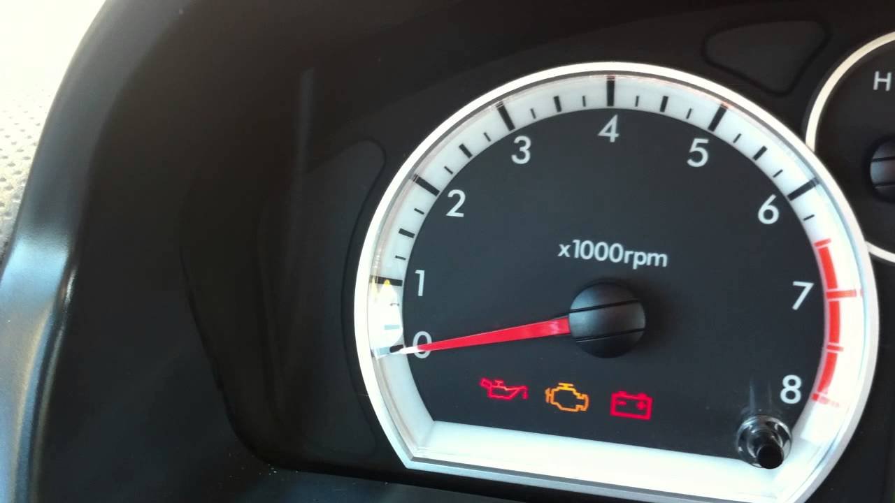 Chevrolet Aveo Abs Warning Light Youtube