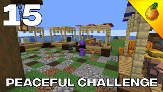 Peaceful Challenge #15: Farmer's Market And 1 Hour Ancient Debris Challenge