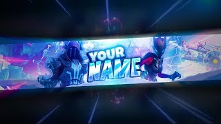 Fortnite: FREE Season 7 Banner Template! (Photoshop)
