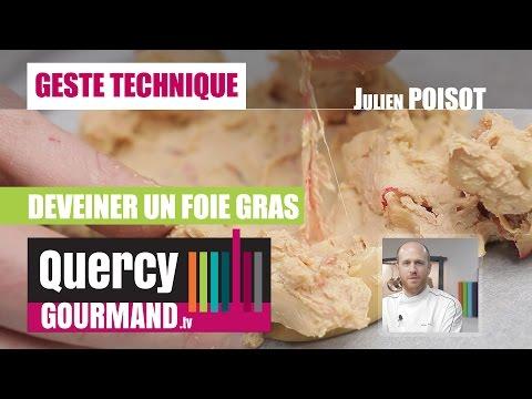 Astuce : Comment déveiner un foie gras cru – quercygourmand.tv
