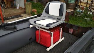 как сделать кресло в лодку