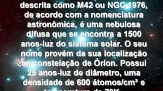 CONHECENDO O ESPAÇO - #01 - A NEBULOSA DE ÓRION