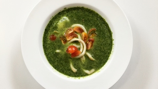 Готовим салат по-Бретонски и крем суп из шпината. 50 рецептов первого