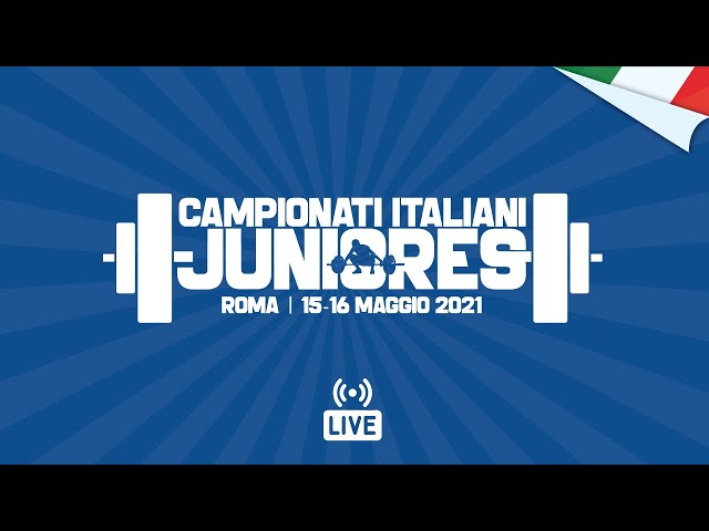 PESISTICA | Finali Juniores 2021 | LIVE