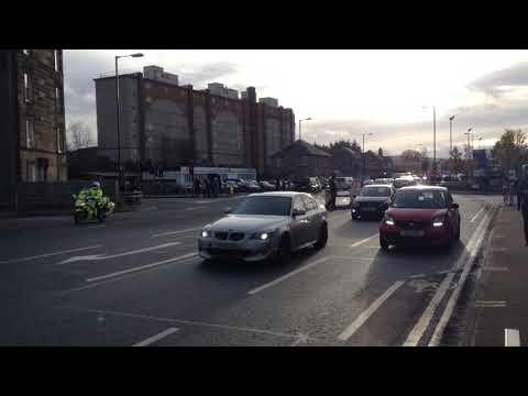 Police Scotland escorting duties