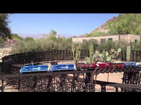 The Living Desert ❤️ G Scale Model Train ❤️ Palm Desert CA, May 2012