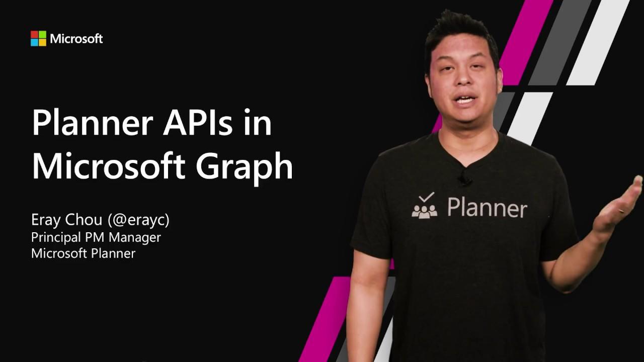 Planner APIs in Microsoft Graph