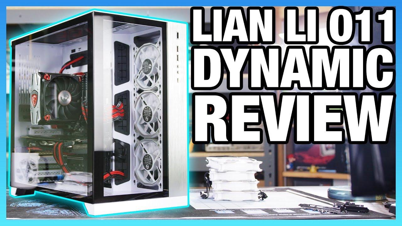 Lian Li O11 Dynamic Review Der8auer Designs A Case Youtube