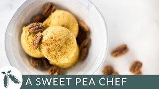 Fresh Pumpkin Ice Cream  A Sweet Pea Chef
