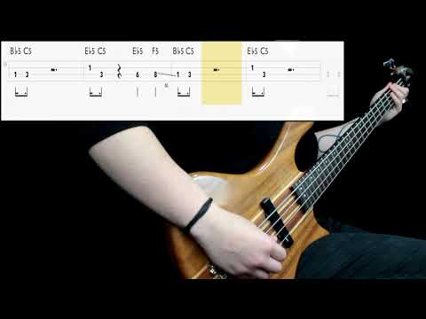 Dio - Holy Diver (Bass Cover) (Play Along Tabs In Video)