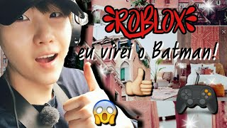 Roblox-EU VIREI O BATMAN! ([GEARS] superhero Tycoon!)