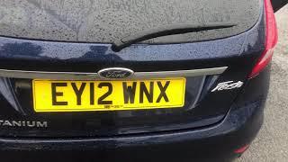 Gambar cover Ford Fiesta EY12 WNX