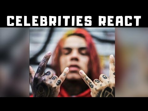 Celebs React To 6IX9INE Arrested & facing LIFE in Prison Lil Pump, 50 Cent, Trippie Redd Celebrities