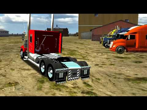 Kenworth T800 Modular [Ganadera  Descarga]  By Maury  18 Wos Haulin