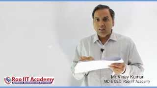 last moment tips to crack aipmt mh cet aiims 2016 by mr vinay kumar md ceo rao iit academy