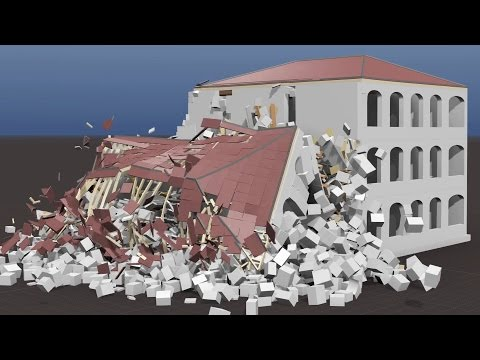 Collapse of Historic Mansion, Building #11 Overview (FP7, INACHUS, VITRUV)
