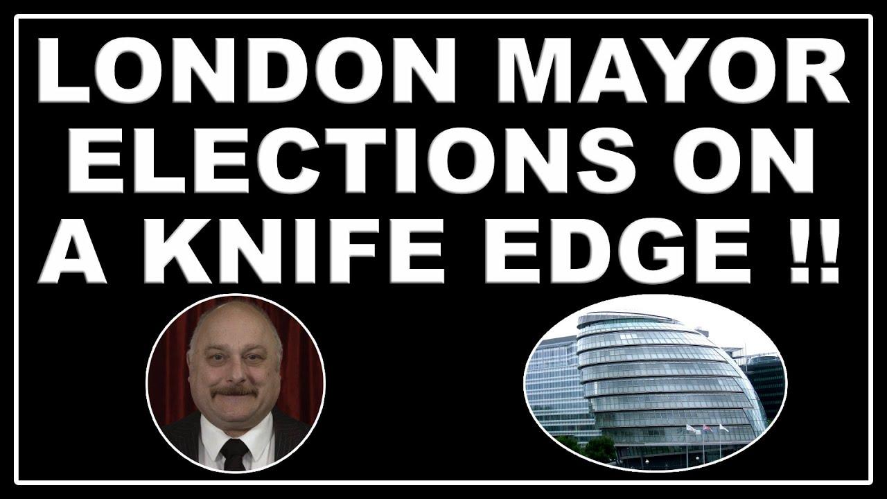 Sadiq Khan and Shaun Bailey on knife edge over London Mayor election!