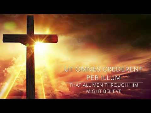 John 1:1-7 English & Latin