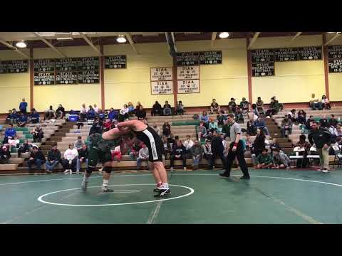 2018 Joey Cartwright (Green) Independent Conference Semifinals Match
