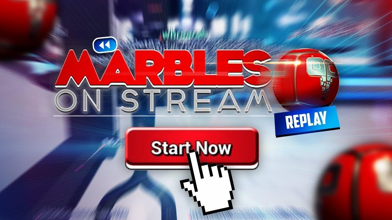Marbles on stream energy