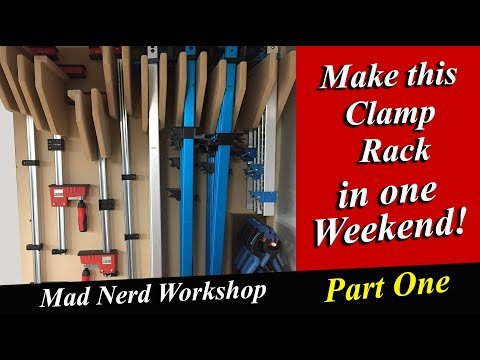Build this Clamp Wall Rack *Part One*