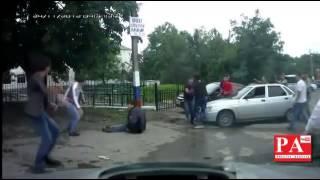 Беспредел в Ингушетии стрельба ( Охрана Евкурова).