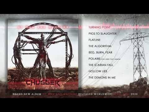 """Chugger -  """"Turning Point"""" Audio Stream + """"Of Man And Machine""""  Cover Revealed"""