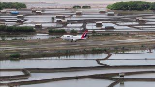 Download Video Nam Air Landing Bima, Pesawat Boeing 737-500 di Bandara Moh Sultan Salahuddin Kota Bima NTB MP3 3GP MP4