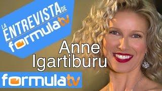 """Anne Igartiburu: """"Me gustaría presentar un reality de buscar pareja"""""""