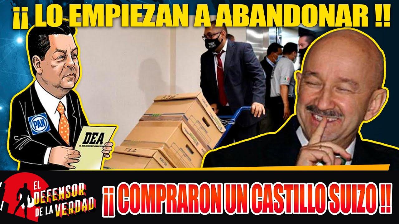 Revelan Q Cabeza De Vaca Lava Dinero Para Salinas y Compraron Un Castillo Suizo!!Es Huashicolero!!